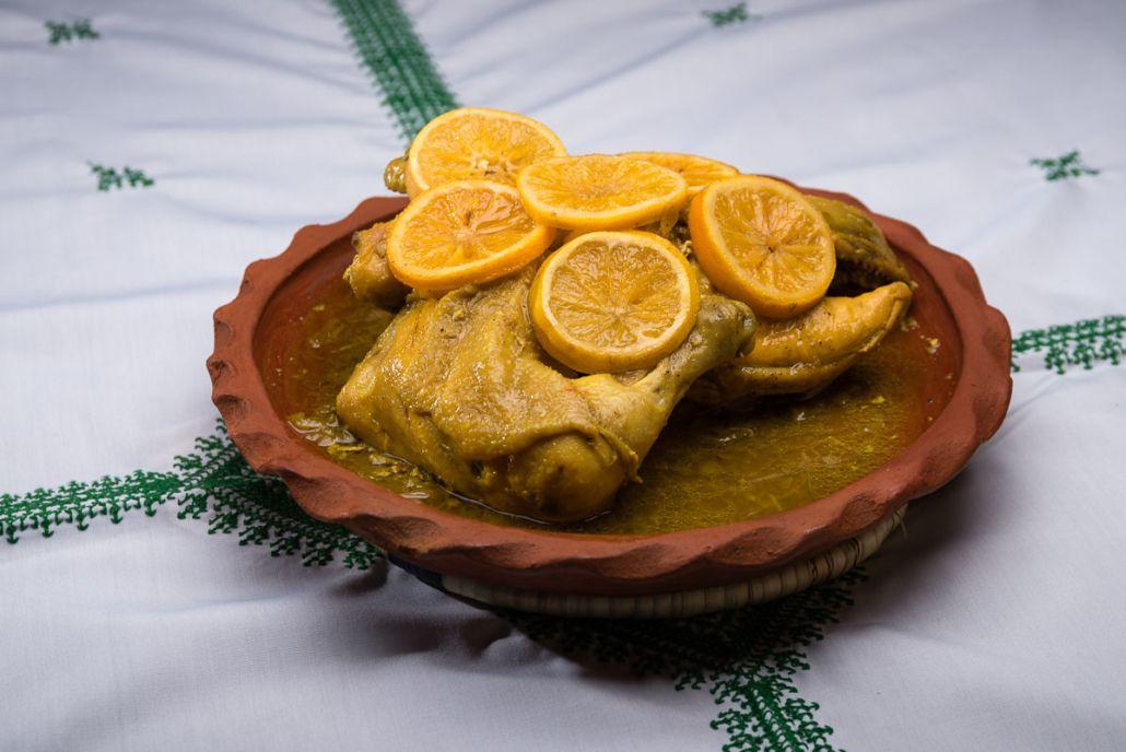 Chiken Dinner Riad Ouarzazate