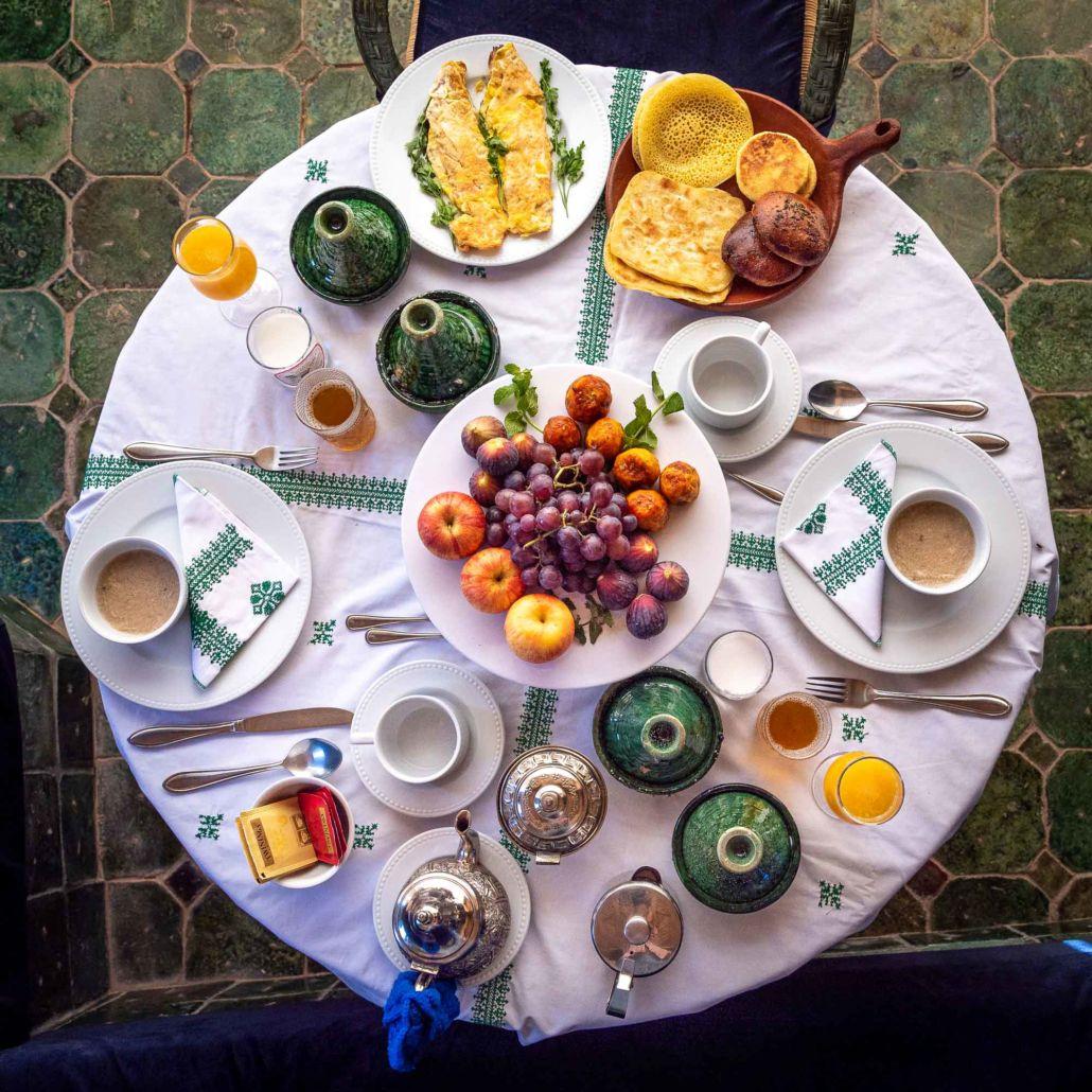 Breakfast Hotel Riad Ouarzazate