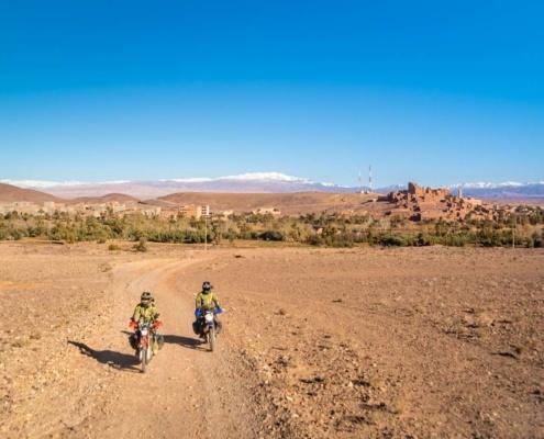 Motards voyageurs Escale a Ouarzazate